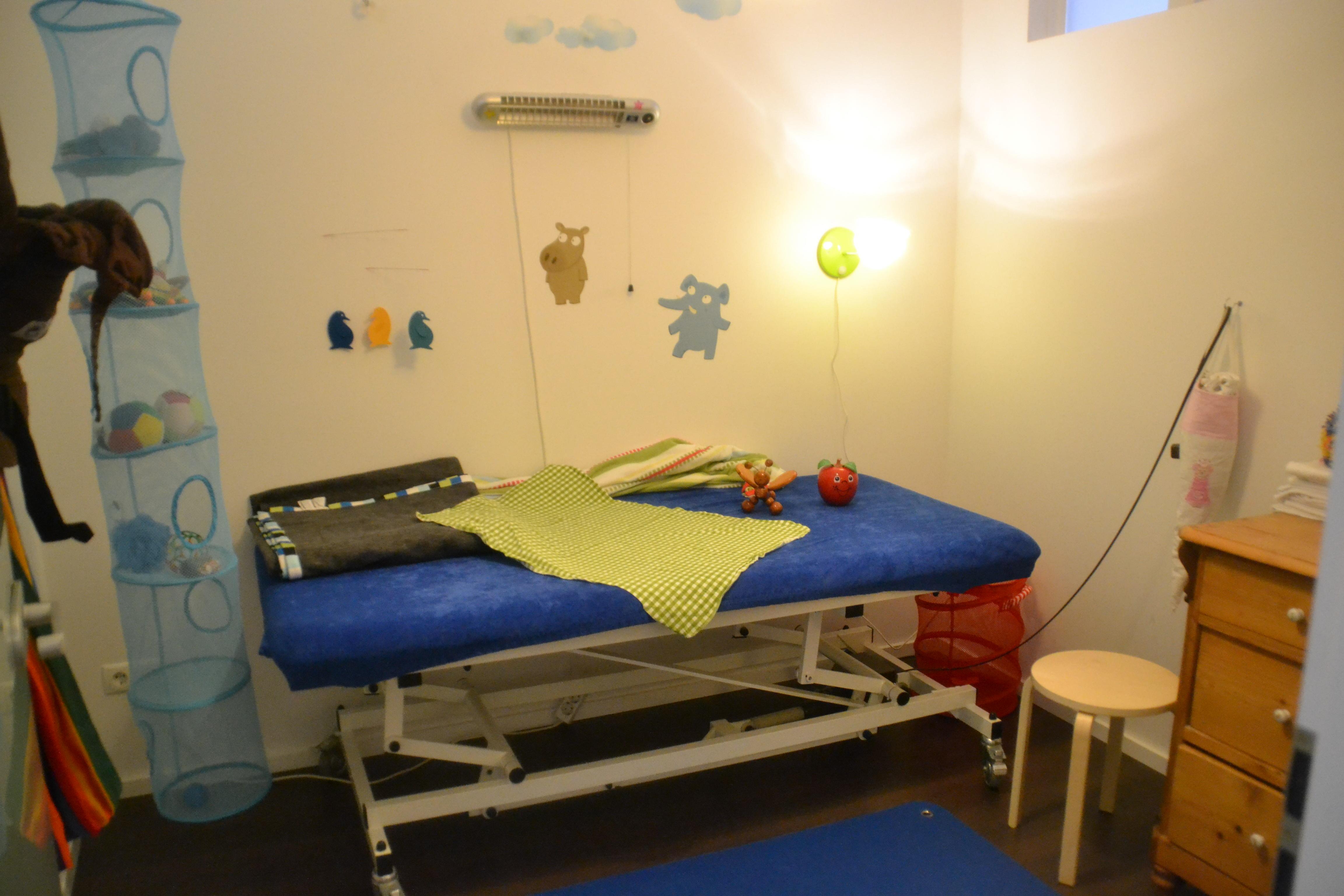 Physiotherapie Osteopathie Bobath Säuglinge